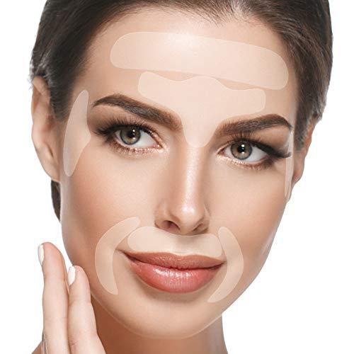 Facial Patches Anti Aging - 165 Gesichts Antifaltenpflaster: Stirn Falten Pads, Augenfltchen...