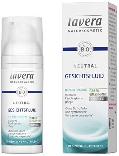 lavera Neutral Gesichtsfluid ∙ Bio Nachtkerze ∙ Intensive Feuchtigkeit ∙ Leichte Textur ∙...