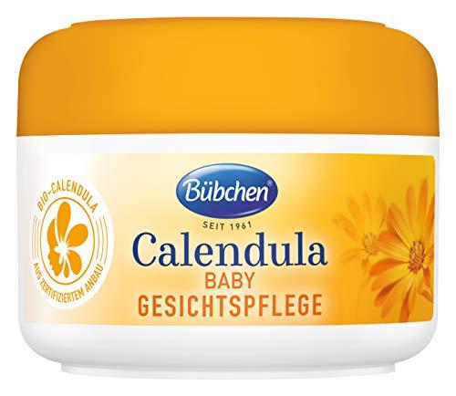 Bübchen Calendula Gesichtspflege, mit BIO-Calendula zum Schutz empfindlicher Babyhaut, 1er Pack (1...
