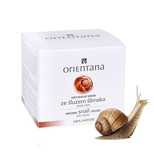 Orientana, Gesichtscreme mit Schneckenschleim - fast zu 99% Natürliche, hellt die Haut auf,...