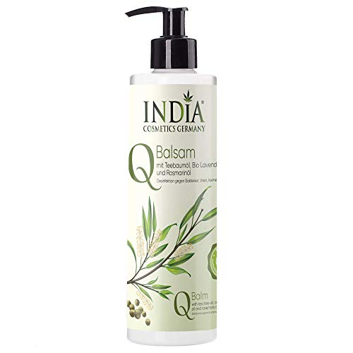 Q-Balsam Creme mit Teebaum Öl. Desinfiziert Bakterien, Pilze und Viren. Gesunde Hautpflege....