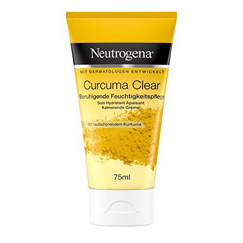 Neutrogena Curcuma Clear Beruhigende Feuchtigkeitspflege, Feuchtigkeitscreme, Gesichtscreme, Unreine...