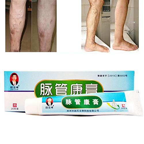 Krampfadern Creme, ROMANTIC BEAR Krampfadern Relief Phlebitis Angiitis Entzündung Blutgefäß...