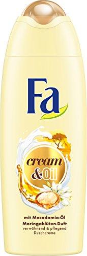 FA Duschcreme Cream & Oil mit Macadamia-Öl und Moringablüten-Duft, 6er Pack (6 x 250 ml)