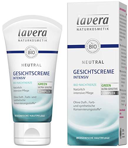 lavera Neutral Gesichtscreme ∙ Bio Nachtkerze ∙ Intensive Pflege ∙ Beruhigt gereizte Haut ∙...