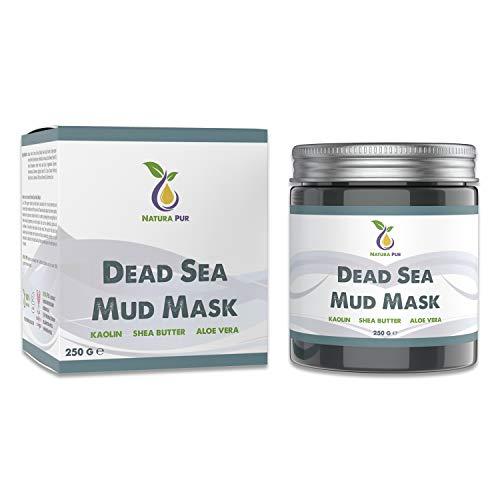 Totes Meer Maske 250g, vegan - NATURKOSMETIK Anti Pickel, Mitesser Maske und gegen Akne -...