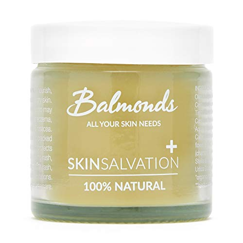Ekzem Creme - Balmonds - Skin Salvation - 60ml - 100% Natürliche - Psoriasis Salbe für Babys,...