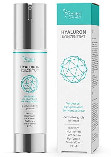 Hyaluronsure Serum hochdosiert - Testsieger 2020 - natrliche Hyaluron Anti-Aging Creme - 50ml von...