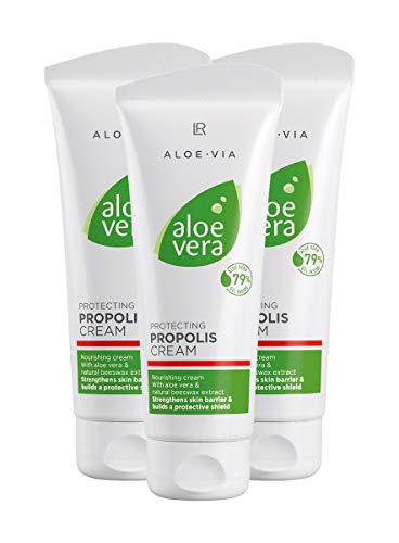 LR ALOE VIA Aloe Vera Schützende Propolis Creme 3 x 100 ml