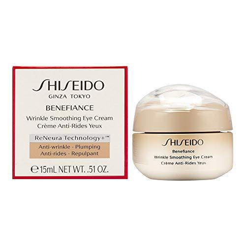 Shiseido Benefiance Wrinkle Smoothing Augencreme, 15 ml
