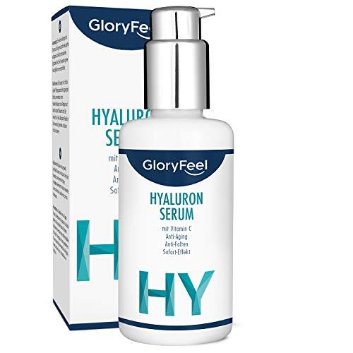 Hyaluronsäure Serum Hochkonzentriert 50ml + Vitamin C - Dermatologisch getestet - Natürliches...