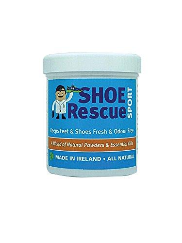 Schuh-und Fußpuder 100g - Fußgeruch-Entferner und Eliminator - Entwickelt von einem registrierten...