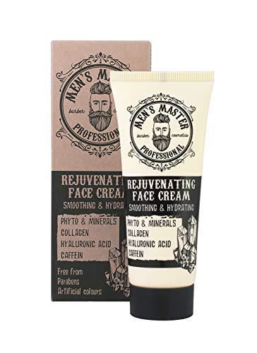 Verjüngende Gesichts-Anti-Falten-Creme für Männer, frei von Parabenen, 75 ml des Herrenmeisters