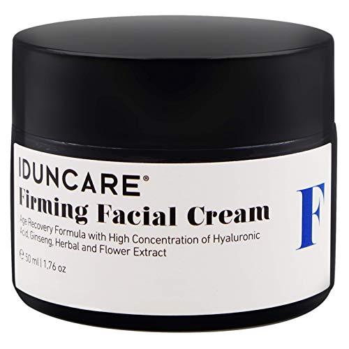Iduncare Straffende Gesichtscreme - Anti Aging Hyaluron Creme mit Vitamin C & natürlichem Ginseng...