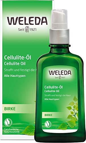 WELEDA Birken Cellulite-Öl, straffendes Naturkosmetik Körperöl für neue Spannkraft und glatte...