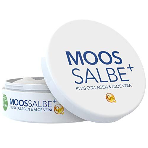 Biolena Moossalbe Plus – Mooscreme gegen Falten (1 Tiegel je 100 ml) – Moossalbe Gesicht Falten...