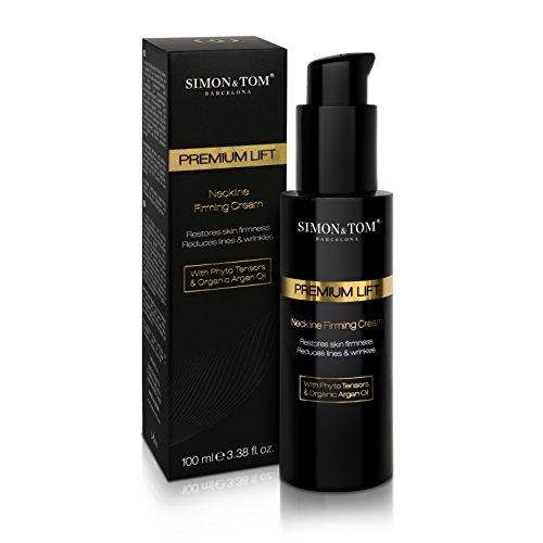 SIMON & TOM Premium LIFT Neckline Firming Cream - Straffende Hals -Feuchtigkeitscreme - Sofortige...