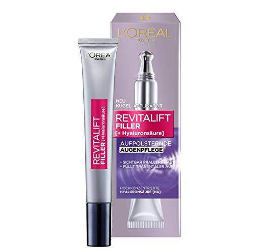 L'Oréal Paris Hyaluron Augenpflege, Revitalift Filler, Anti-Aging Augencreme, Revolutionäre...