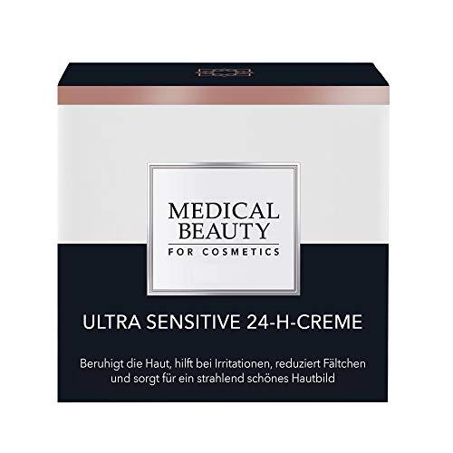 MEDICAL BEAUTY® Ultra Sensitive 24-H-Creme | Für sensible Haut | Beruhigend und regenerierend und...
