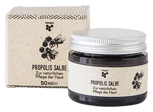 beegut Propolis Salbe, zertifizierte Naturkosmetik aus dem Allgäu, hochwertiges Balsam mit 5%...