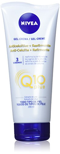 NIVEA Q10 Plus Anti-Cellulite-Creme + Straffungsmittel, gegen Cellulite, Körperpflege, 1er Pack (1...