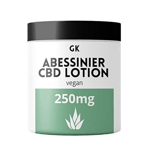 CBD Creme hochdosiert (30ml) mit 250mg CBD auf Aloe Vera Basis 100% vegan - verwendbar als Akne...