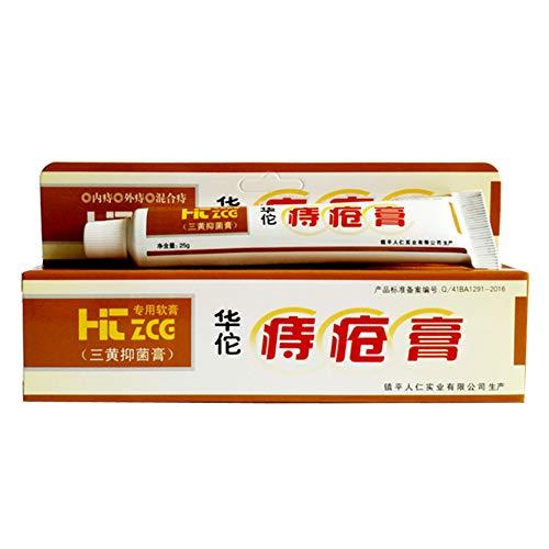Surenhap Hemorrhoid Treatment Hua Tuo - Salbe Creme aus natürliche Kräuter gegen Analfissuren,...