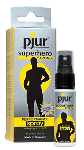 pjur superhero STRONG performance spray - Hochkonzentriertes Verzögerungsspray für Männer -...