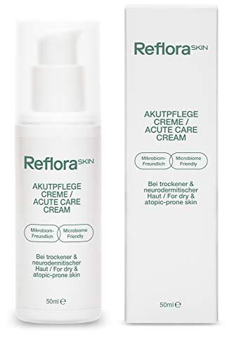 Reflora Skin Akutpflege Creme (50ml) – Beruhigt juckende, trockene, sensible und zu Neurodermitis...