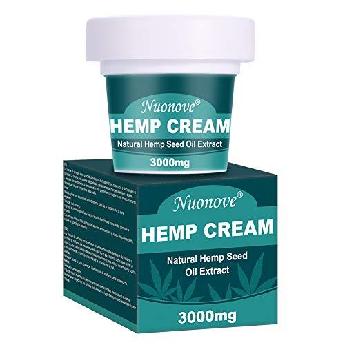 Hanf Creme, Hemp Cream, Hanfbalsam, Hanf Gesichtscreme, Cannabis Tagescreme, Anti-Akne,...