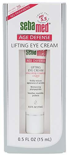 sebamed Anti-Ageing Augencreme Q10, Augenpflege mit Hyaluronsäure & Phyto-Peptiden gegen Falten,...