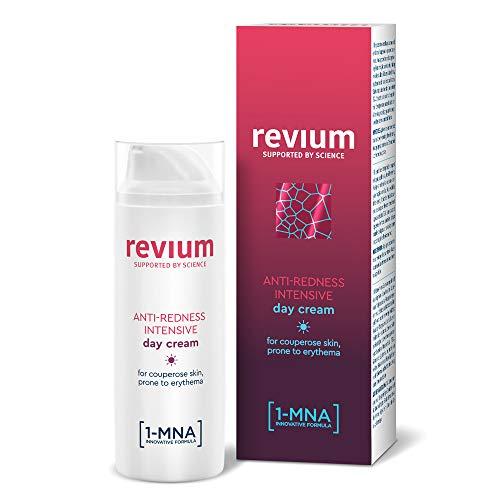 Revium Rosacea Anti-Rötung Intensive Tagescreme für Erythem-anfällige Couperose-Haut, mit UVA-...