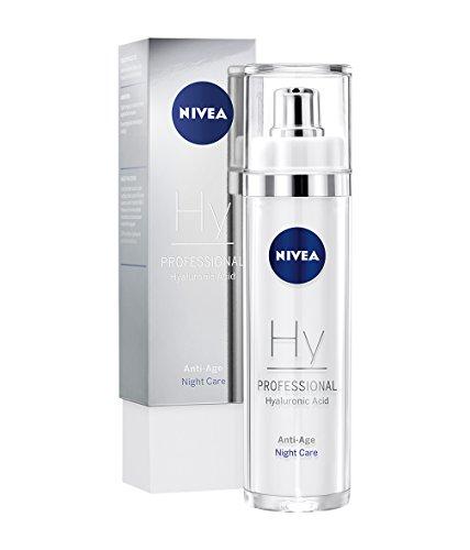 NIVEA PROFESSIONAL Hyaluronsäure Nachtpflege, hochwirksame Hyaluron Anti-Aging Nachtcreme für...