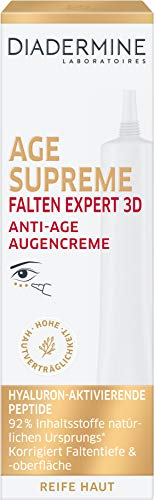 Diadermine Age Supreme Falten Expert 3D Anti-Age Augencreme, 15 ml