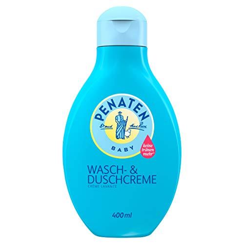Penaten Wasch- & Duschcreme, mildes Baby Waschgel zur sanften Reinigung und Pflege für zarte...