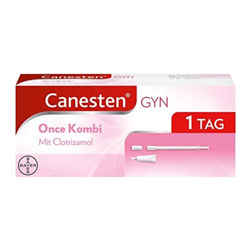 CANESTEN GYNOnceKombi,Vaginaltablette und Creme zur Behandlung von Scheidenpilz...