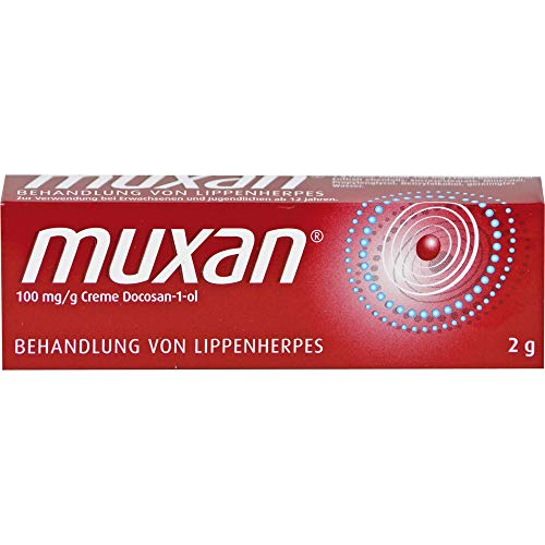 Muxan Behandlung von Lippenherpes Creme, 2 g Creme