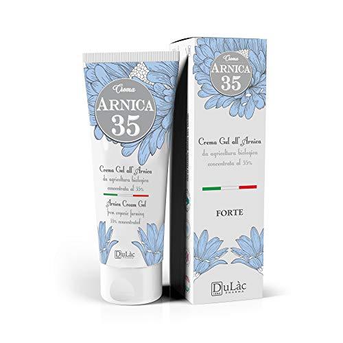 Dulàc Arnika Gel Creme 35% konzentriert, 75 ml, AM MEISTEN KONZENTRIERT, 100% Made in Italy, Arnica...