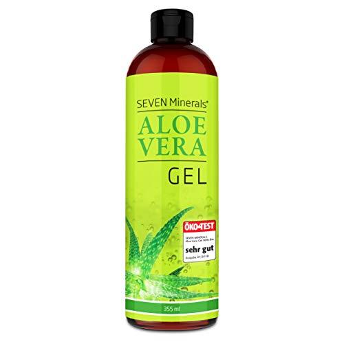 Aloe Vera Gel 99% Bio, 355 ml – ÖKO-TEST Sehr Gut – 100% Natürlich, Rein & Ohne Duftstoffe...