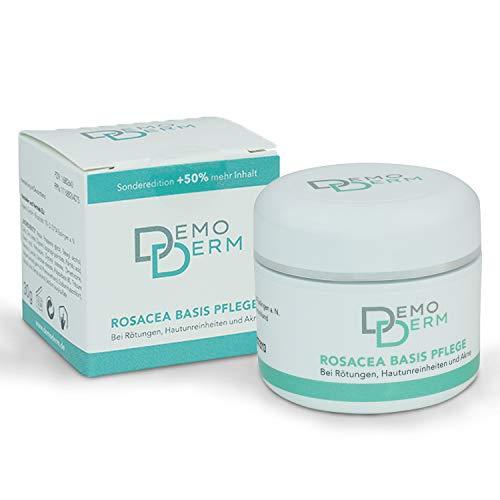 DEMODERM Basis Creme wohltuend bei Rosacea, Pickel, Akne und geröteter Haut - 30 g Creme zur...
