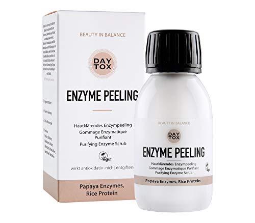 DAYTOX - Enzyme Peeling - Hautkärendes Enzymepeeling für das Gesicht - Vegan, ohne Farbstoffe,...