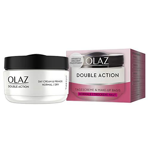 Olaz Double Action Tagescreme und Make-up Basis Feuchtigkeitspflege, 50 ml