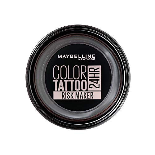 Maybelline New York Color Tattoo Creme-Gel Lidschatten, 190 Risk Maker, Schwarz, 53 G