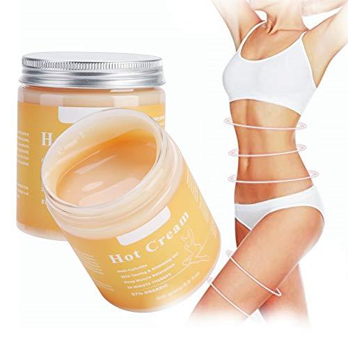 Körpercreme, Anti Cellulite Creme, Hot Cream Fat Burner Shaping Cream Massage Hot Anti-Cellulite,...