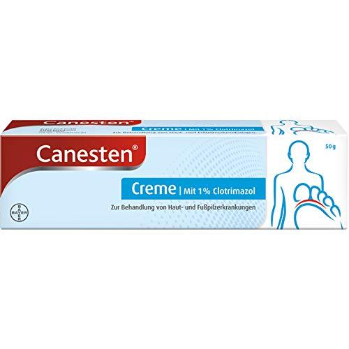 CanestenCremegegenHaut- und Fußpilz50gmit 1% Clotrimazol