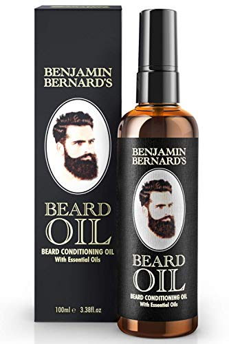 Bartöl - Beard Oil für Männer - Für gesundes Bartwachstum & einen gepflegten Stil - Leicht...