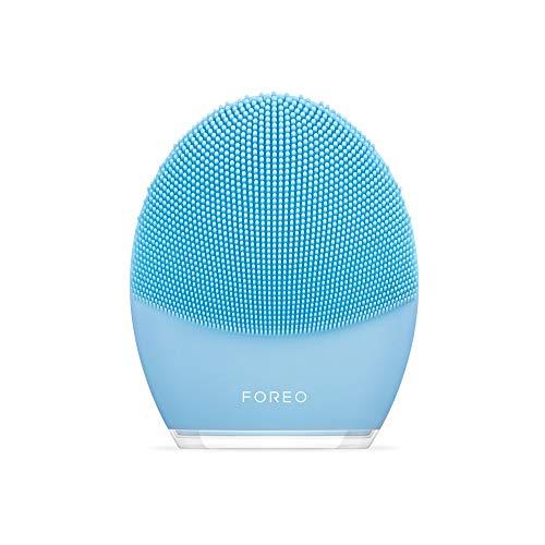 Foreo LUNA 3 für Mischhaut, intelligente Gesichtsreinigungsbürste und straffende Massagebürste...