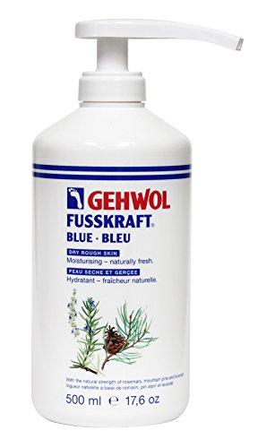 Gehwol Fusskraft Blau Fußcreme Für Trockene Raue Haut 500 ml
