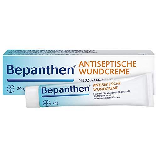 Bepanthen Antiseptische Wundcreme zum Schutz vor Wundinfektion, 20 g