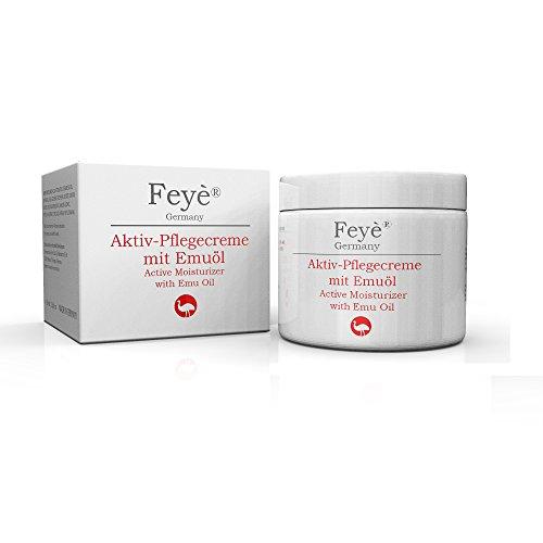 Feyè® Aktiv-Creme mit Emuöl – Bei trockener Haut, Psoriasis, Schuppenflechte, Ekzemen und...